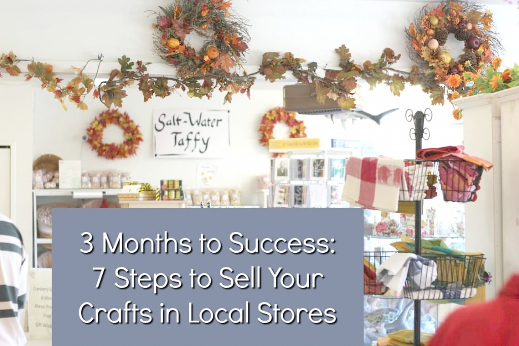 Sell Handmade Crafts In Stores